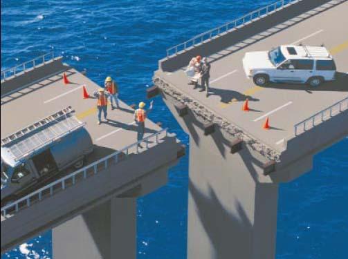 Bridge too short