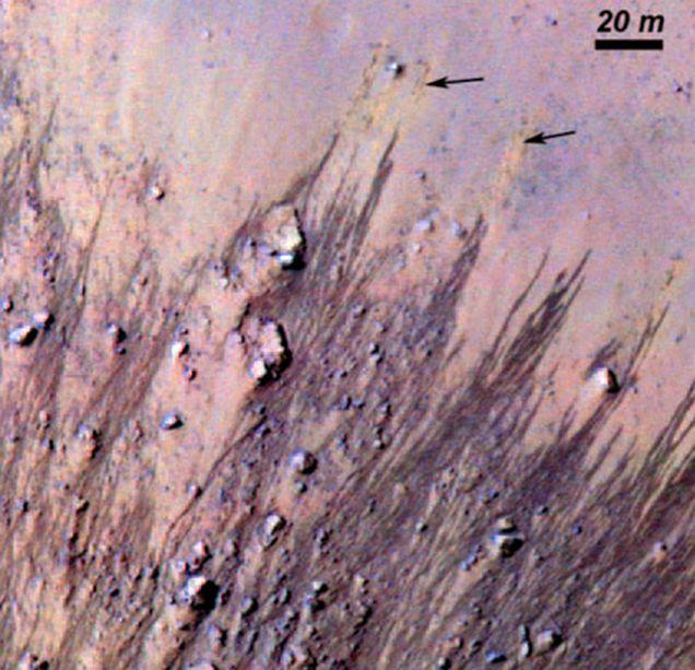 Horo crater